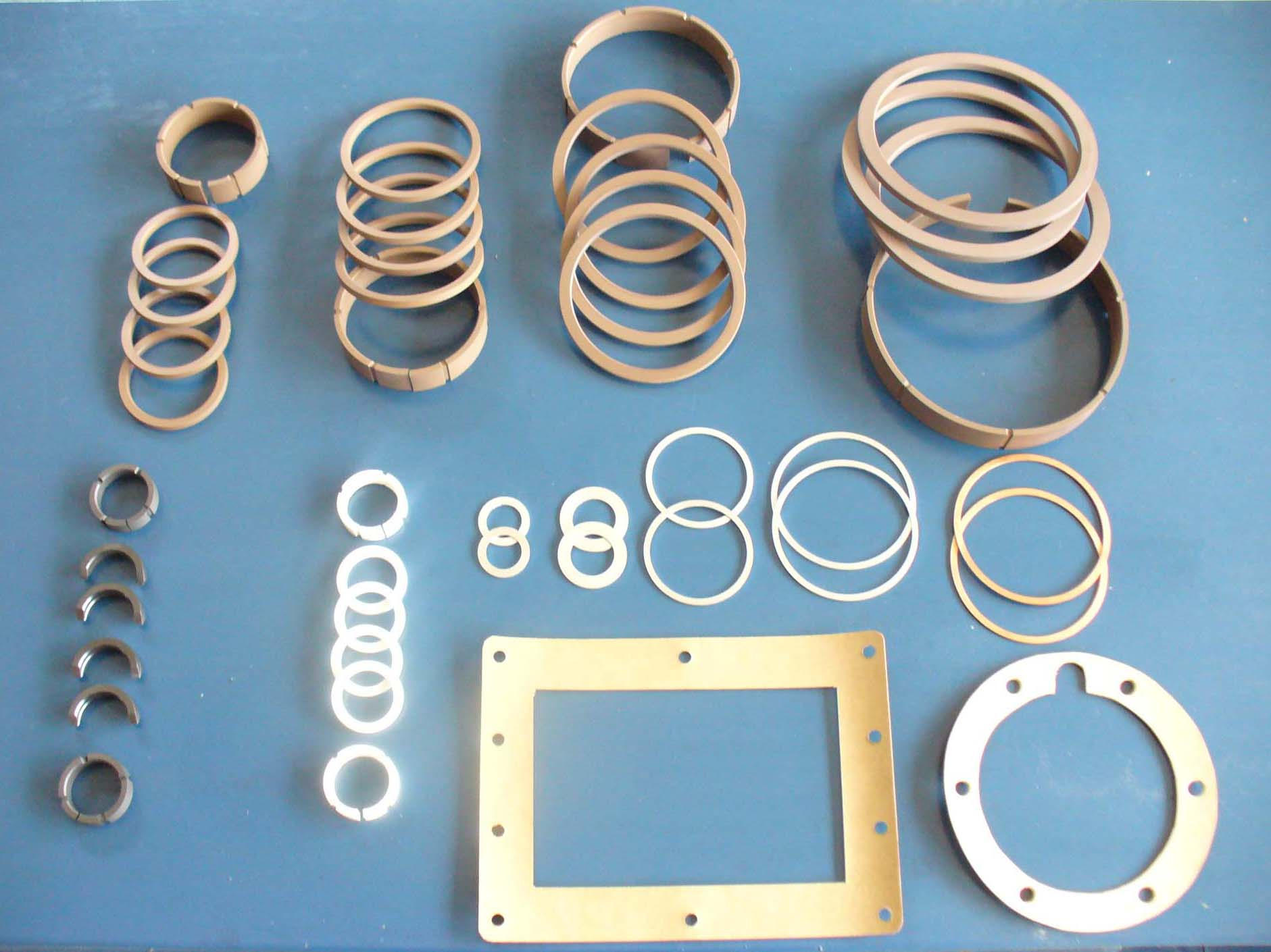 15 AROS Y JUNTAS -   RINGS AND GASKETS